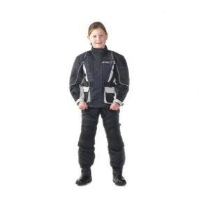 MC Børnejakke - GC Kids Jakke Sølv