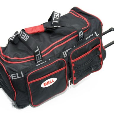 Bell - Trolly Travel Bag Sort/rød