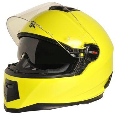 MC hjelm fullface - RXA Blade Fluo Gul