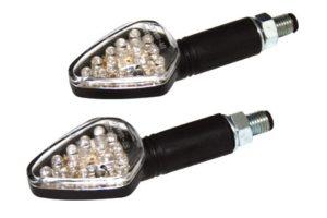 MC Blinklys - Harpoon - Sort/LED