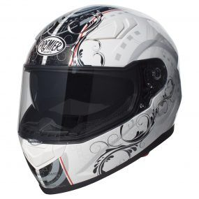MC-hjelm fullface - Premier Viper TR8