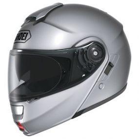 MC Flip Up hjelm - Shoei Neotec Light Silver
