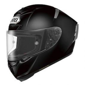 MC-hjelm fullface - Shoei X-Spirit Solid Black