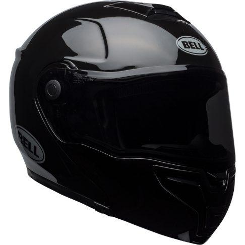 MC Flip Up hjelm Bell SRT Modular Solid Black